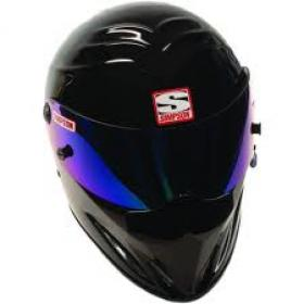 SIMPSON HELMET Diamond Back Black  Size- 7 1/2