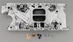 Edelbrock Performer Dual Plain Aluminum Endura Shine 4150 Suit Ford 260-302W
