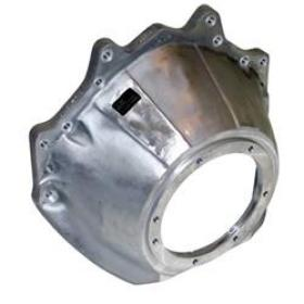 J.W Performance Ultra Bell Alloy Bellhousing SFI-30.1 Certfied Suit Big Block Ford To C4-C10 Trans