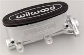 Willwood Aluminum Tandem Master Cylinder 1inch Bore
