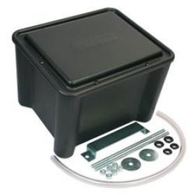 Moroso Plastic Battery Box In Black 10.5'' Length 13'' Width 9.5' Height