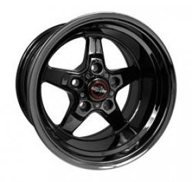 Race Star Drag Star Black 15x10 4.5B/S 5x4.75 Pattern (Holden,Chev)