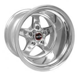 Race Star Drag Star Polished 15x12 4''B/S 5x4.75 Pattern (Holden,Chev)