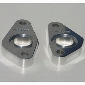 Meziere SBF .900 Belt Drive Spacers Pair Polished