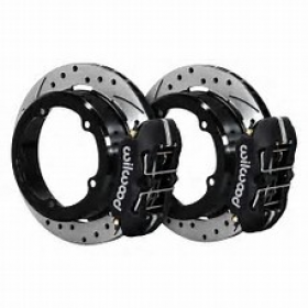 Willwood Dynapro Low-Profile Rear Parking Brake Kit Suit Strange Engineering Floater