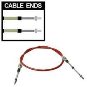 TCI Shifter Cable 5ft Length 2in Stroke  Morse Style Threaded/Threaded Ends