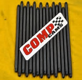 Comp Cams Hi-Tech Chromoly Pushrods Heat-Treated .080 Thick 3/8'' 8.280in/9.250ex Length Suit Std Length Chevy Big Block Set Of 16