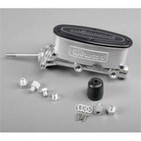 Wilwood Aluminum Tandem Master Cylinder Ball Burnished 0.875'' Bore Universal Fit