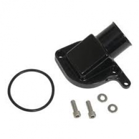 Meziere GM LS-1 Billet Alternative For Stock Inlet Housing Black