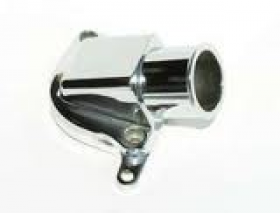 Meziere GM LS-1 Billet Alternative For The Stock Inlet Housing Polished