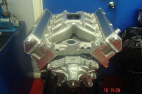 Holden 383ci Alloy Heads 550+ HP Solid Cam Alloy Heads Ported